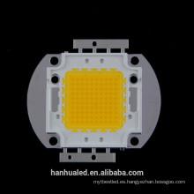 Chip blanco / blanco cálido integrado de 100w LED
