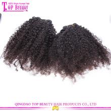 Top Verkauf unverarbeiteten natürlichen menschlichen Haar Weben akzeptieren Paypal Jungfrau russische Haar