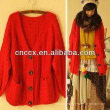 12STC0715 pull en cachemire des femmes fabricant de tricotage