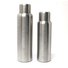 Thermal stainless steel bottle with vacuum cup flask
