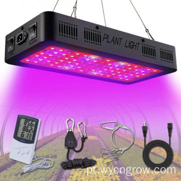 Hidropônico LED Grow Light interruptor duplo veg bloom