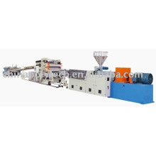 Plastic sheet (board) extrusion line