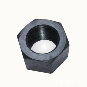 3 / 8-16 Grade 5 Plain Heavy Hex Nut