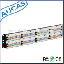 Rack Mount IDC Cat6 Cat5e 24 port Patch Panel / Cat5e IDC 24 port Patch Panel / amp 48 port cat5e cat6 patch panel