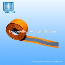 reflective iron on patches tape orange