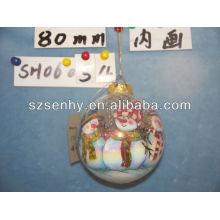 2013 стеклянный шар спираль счетчик