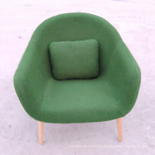 Modern Fruniture Home Design Sofa Chair with Wood Leg