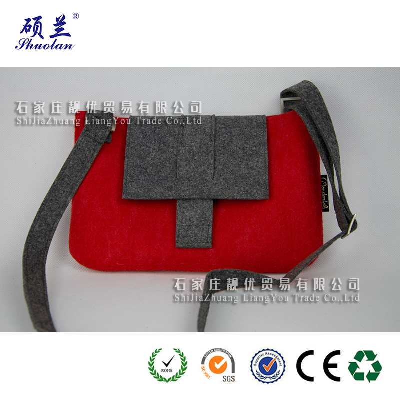 Customized Design Felt Shoulder Bag