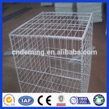 Hot Dipped Galvanized Square Hole Welded Wire Mesh Gabion Baskets