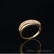 Wholesale joyería superior simple anillo de dedo de oro diseños