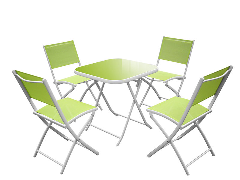 5pc foldable Aluminium Garden Dining Set S1805