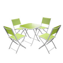 5pc foldable Aluminium Garden Dining Set