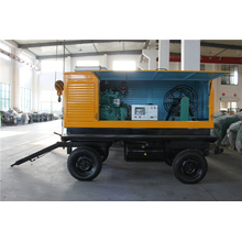 Trailer Type Mobile Cummins Diesel Generator 50kVA 40kw
