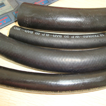 hot sales trade assurance flexible hydraulic rubber hose braid to air/water