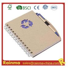 Notebook de papel de papelaria para fornecimento de escritório