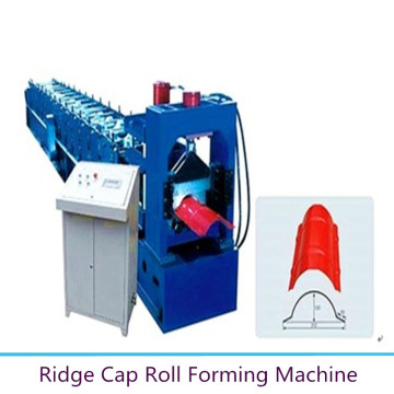Farbe Metall Ridge Cap Making Machine