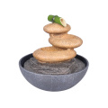 Table Fountain Wired Moonstone with Bamboo