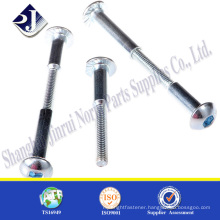 Male and female stainless steel sex bolt Stainless steel sex bolt sex bolt hex