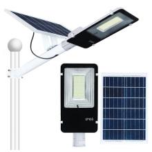 Lâmpada de rua conduzida solar exterior impermeável 100W