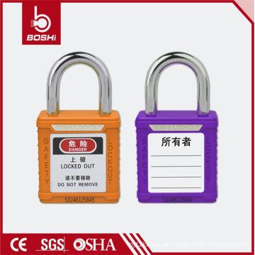BOSHI Edelstahl Sicherheits-Vorhängeschloss BD-G53 mit kurzem Schäkel 25mm