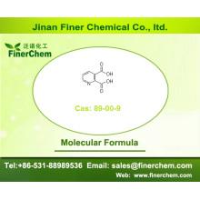 Acide quinolinique; Cas 89-00-9; Acide 2,3-pyridinedicarboxylique; Acide pyridine-2,3-dicarboxylique | Prix d'usine, gros stocks