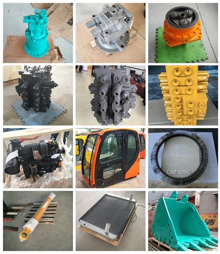 excavator hydraulic parts