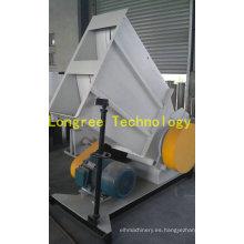 Trituradora del perfil del PVC / trituradora de la hoja del PVC / unidad de la trituradora de la botella del animal doméstico con el dispositivo de cargamento