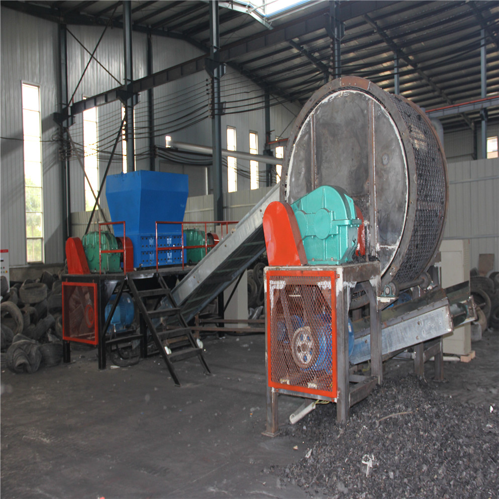 whole tyre crusher plant