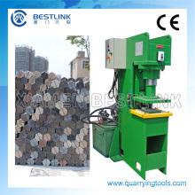 Máquina de estampagem de pedra elétrica para reciclagem de resíduos de pedras