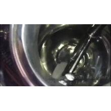 Cuve de mélange de jus à double enveloppe en acier inoxydable