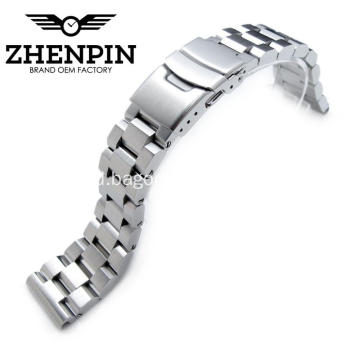 21,5mm 316L stainless steel solid watch band