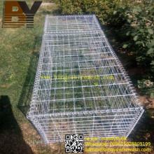 Stone Cage Welded or Hexagonal Wire Netting Gabion Basket