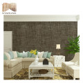 top quality decorative woven vinyl wallpaper with cheap price