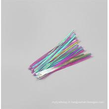 Cadeaux de fête de Noël Emballage Sacs-cadeaux Twist Tie