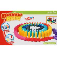 Brinquedos educativos de madeira Esportes Domino Rows Toy