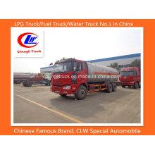 10 Wheel 25000liters Camião-tanque de combustível pesado / óleo de Faw
