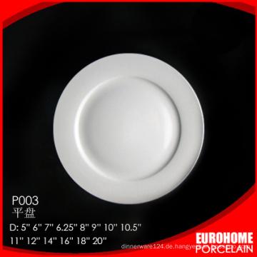Massen von China Porzellan günstige weiße Porzellan Suppenteller kaufen