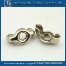 Porcas de asa de aço inoxidável DIN315