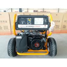 Gerador resistente portátil da gasolina da gasolina 7kw com RCD e começo remoto