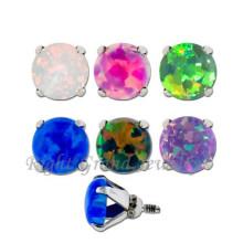 New Micro Dermal Piercing Opal Dermal Anchor Piercing Jewelry