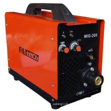 Soldador MIG IGBT com ciclo de alta potência (MIG-200T)