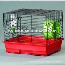 cage de hamster en métal