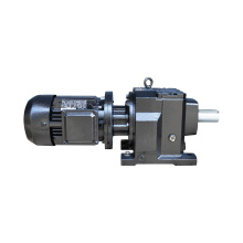 REDSUN R37 Series  helical speed reducers gearbox with 0.18~3KW AC motor