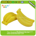Banane Shaped Eraser, Cartoon-Radiergummis für Büro