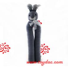 Плюшевая заглушка для обуви из кролика