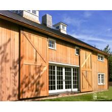 Exterior British Brace Style Sliding Barn Door
