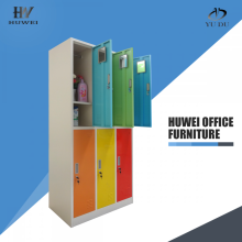 6 puerta colorida Godrej Steel Almirah Locker