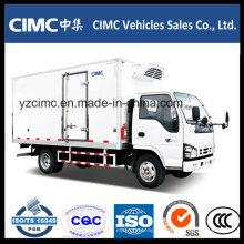 Camión refrigerado Isuzu 5 toneladas congelador Van Truck Themoking