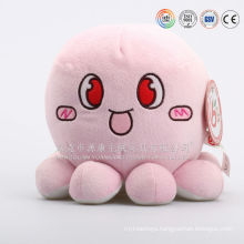 Custom PP cotton emoji pillow octopus plush toy