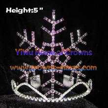 5inch Snowflake Christmas Pageant Crowns